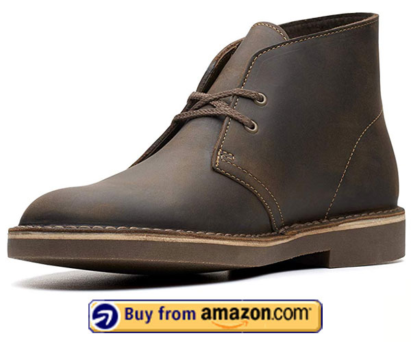 Clarks Men's Bushacre Boot – Best Shoes For Being On Your Feet All Day