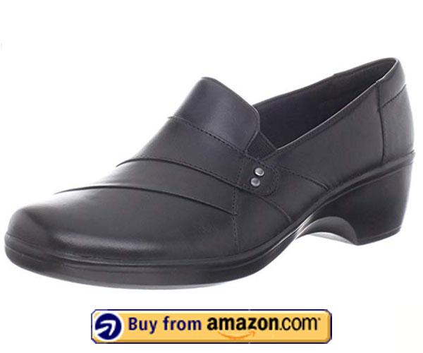 Clarks Women's May Marigold Slip-On Loafer – Best Slip Resistant Shoes 2020
