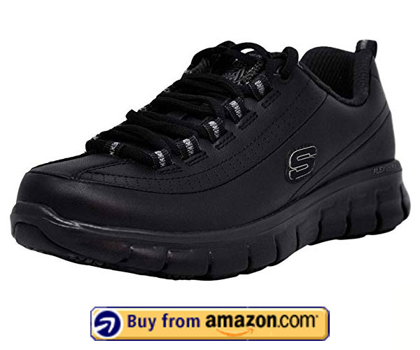 Skechers Work Sure Track – Best Shoes For Standing All Day Mens