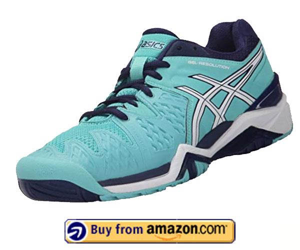 ASICS Gel-Resolution 6 - Best Shoes For Flat Feet Men 2020