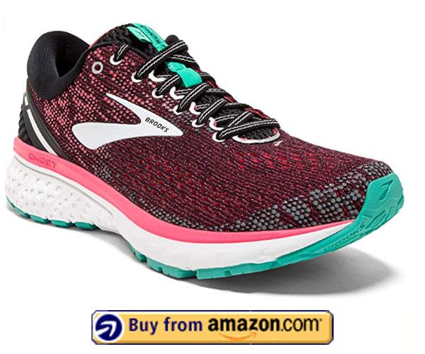 Brooks Women's Ghost Shoe – Best Walking Shoes For Plantar Fasciitis 2020