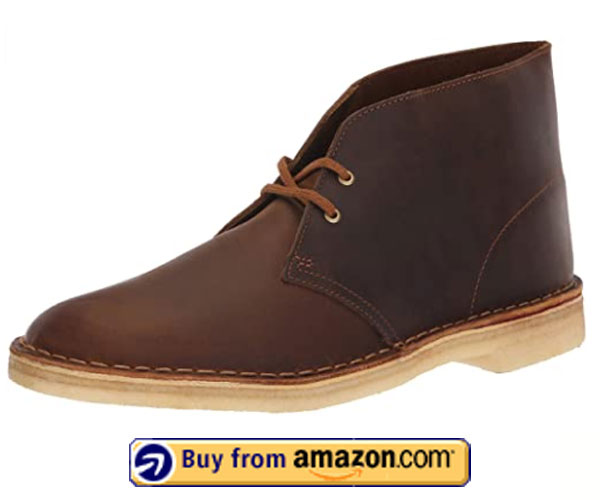 Clarks Originals Men's Desert Boot - Best Walking Shoes For Flat Feet And Overpronation 2020