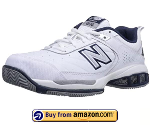 New Balance Men's mc806 – Best Tennis Court Shoes For Plantar Fasciitis 2020