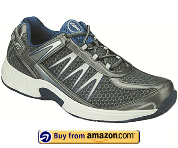 Orthofeet Orthopedic Fasciitis, Diabetic And Sprint Shoes – Best Shoes For Plantar Fasciitis 2020