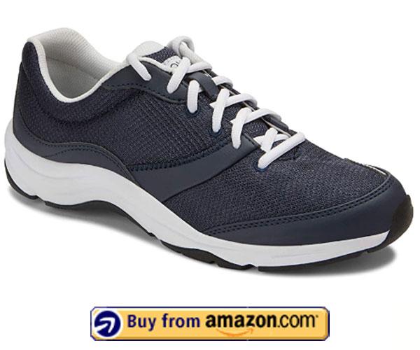 Vionic Women's Lace up Walking Fitness – Best Women's Walking Shoes For Plantar Fasciitis 2020