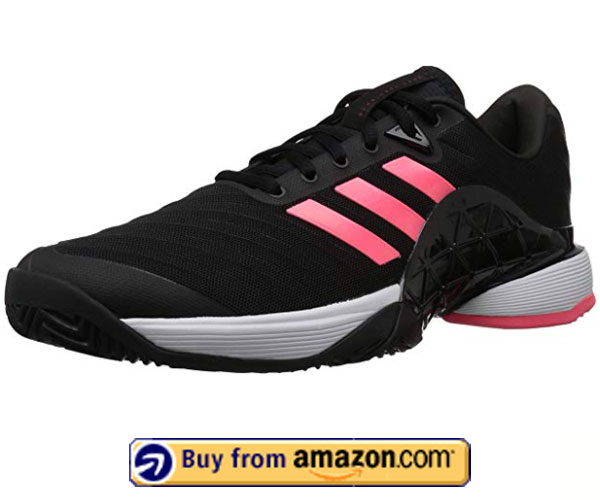 adidas Men's Barricade 2018 – Best Men's Tennis Shoes For Plantar Fasciitis 2020