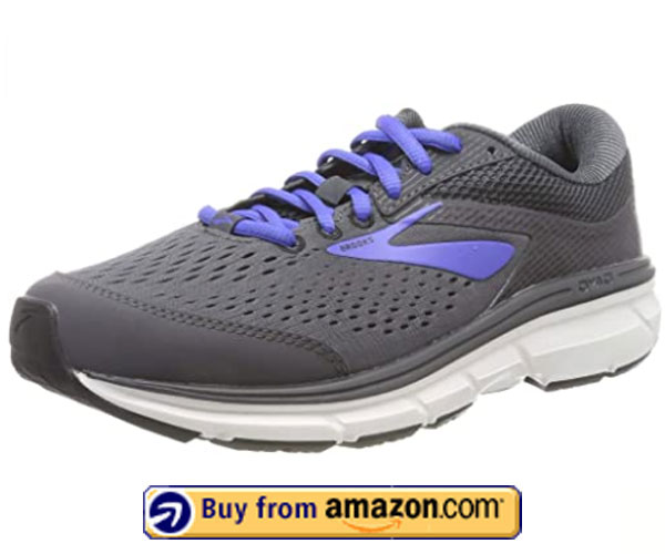 Brooks Women's Dyad 10 – Best Running Shoes For Flat Feet And Bunions 2020