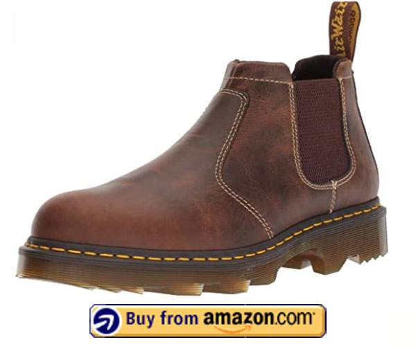 Dr. Martens Mens Penly Chelsea Work Boot – Best Slip On Work Boots 2020