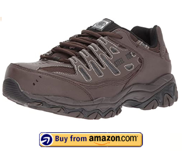 Skechers for Work Cankton Athletic Steel - Best Athletic Shoes For Standing All Day 2020