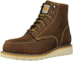 Carhartt Mens Wedge Soft Toe Work Boot