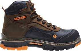 WOLVERINE Mens Overpass Work Boot