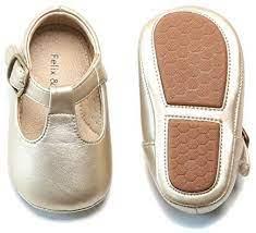 Felix Flora Leather Baby Shoes