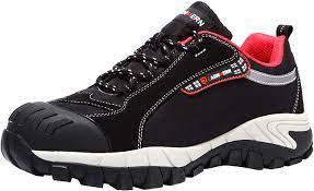 LARNMERN Work Steel Toe Shoes